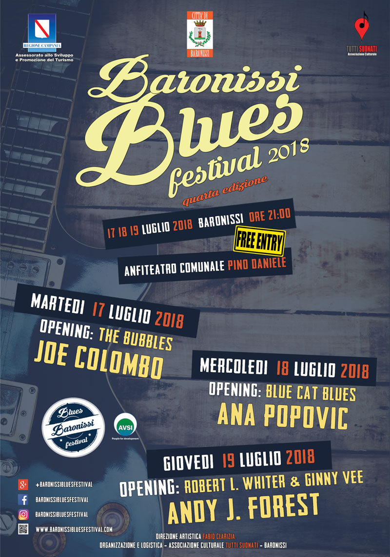 Baronissi Blues Festival 2018
